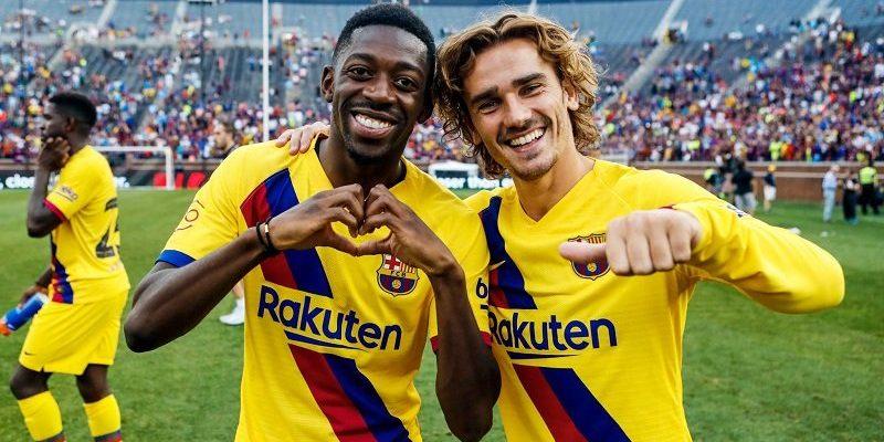 Dembélé i Griezmann, en arxiu | FC Barcelona