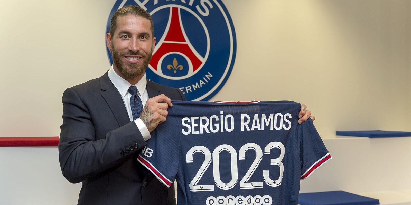 Sergio Ramos, presentat amb el PSG | PSG FC