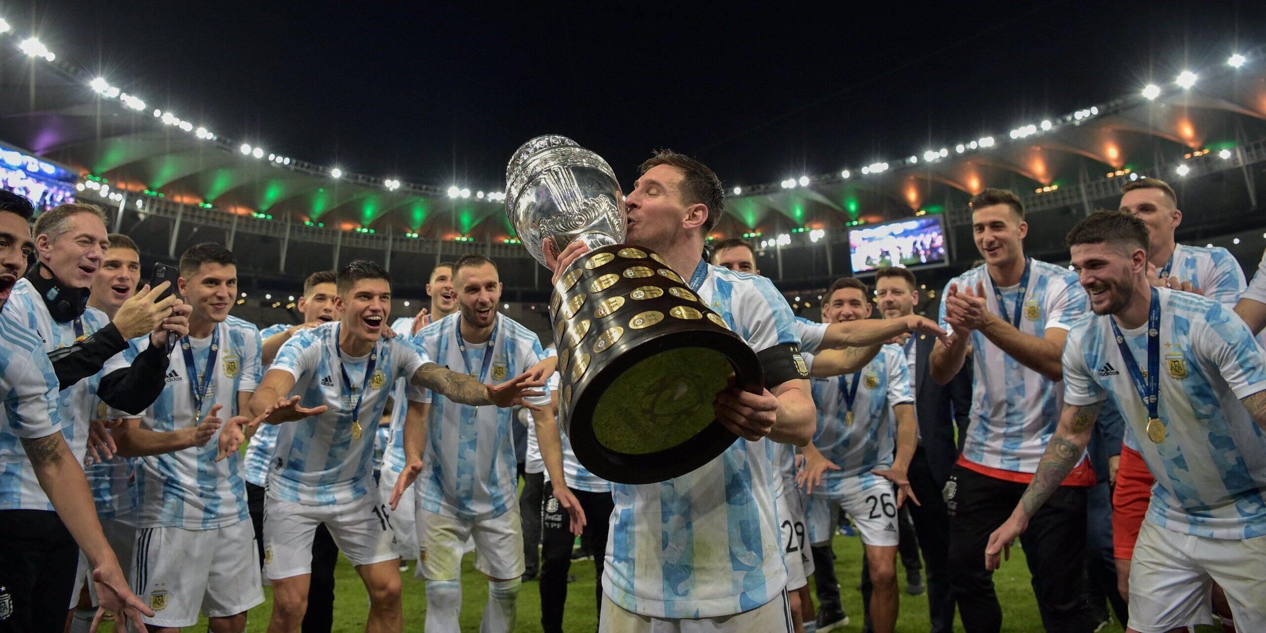 Messi aixeca finalment la Copa Amèrica | @CopaAmerica