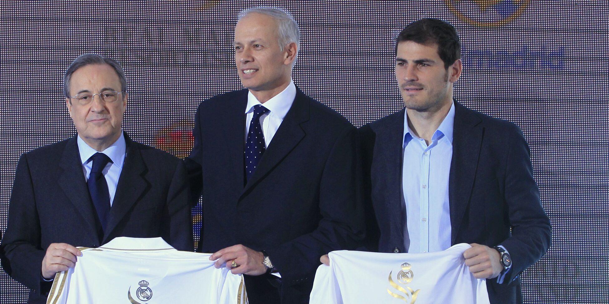 Florentino Pérez i Iker Casillas, en arxiu | Europa Press