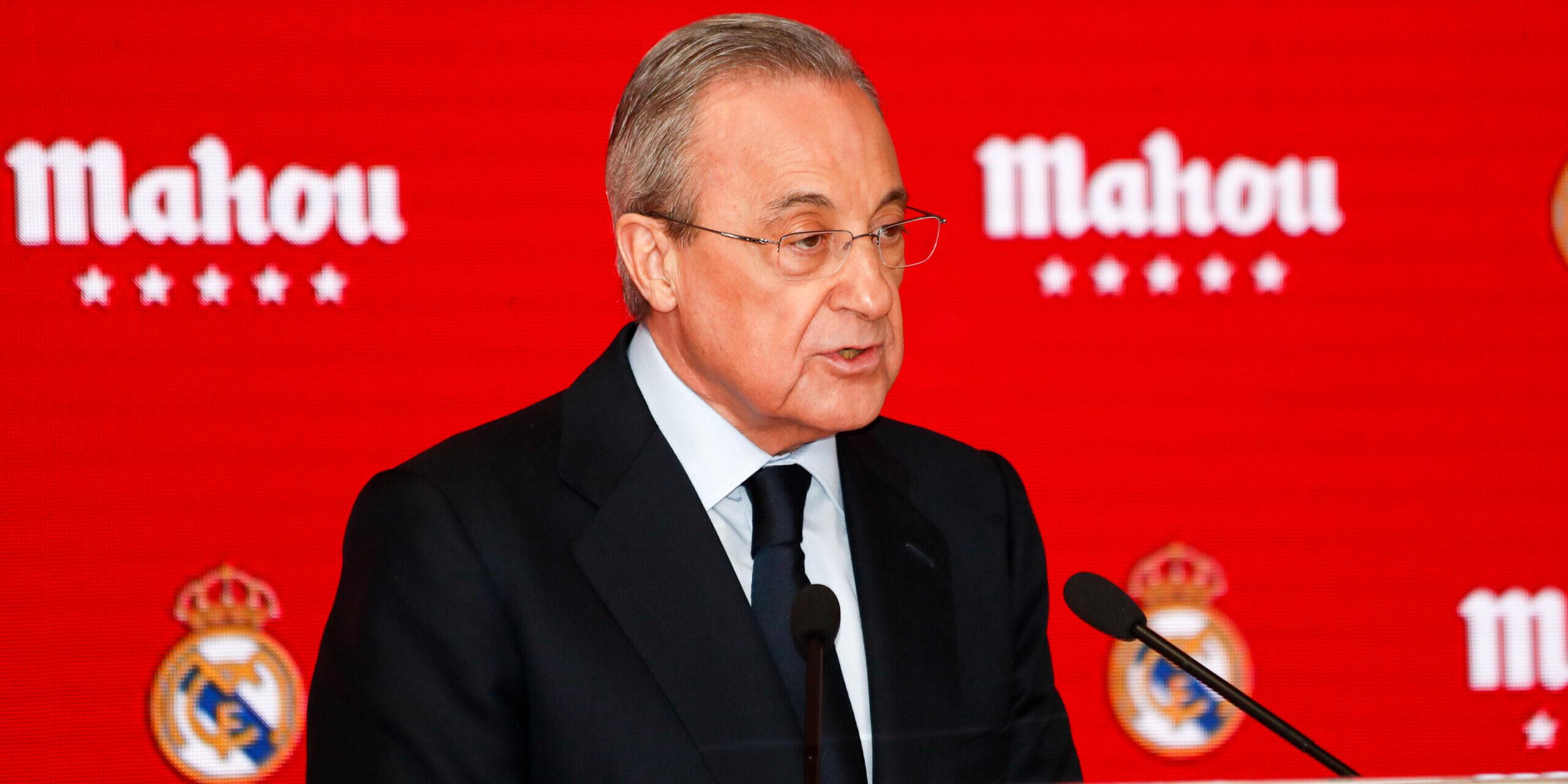 Florentino Pérez, en arxiu | Europa Press