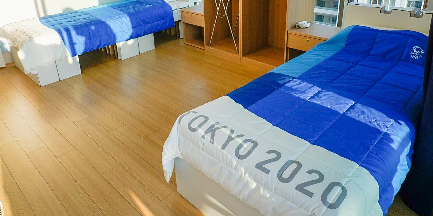Els llits de la Vila Olímpica de Tòquio | COI