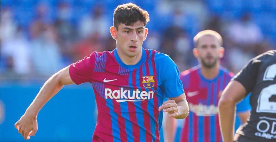 Yusuf Demir, durant un partit de pretemporada amb el Barça | FC Barcelona