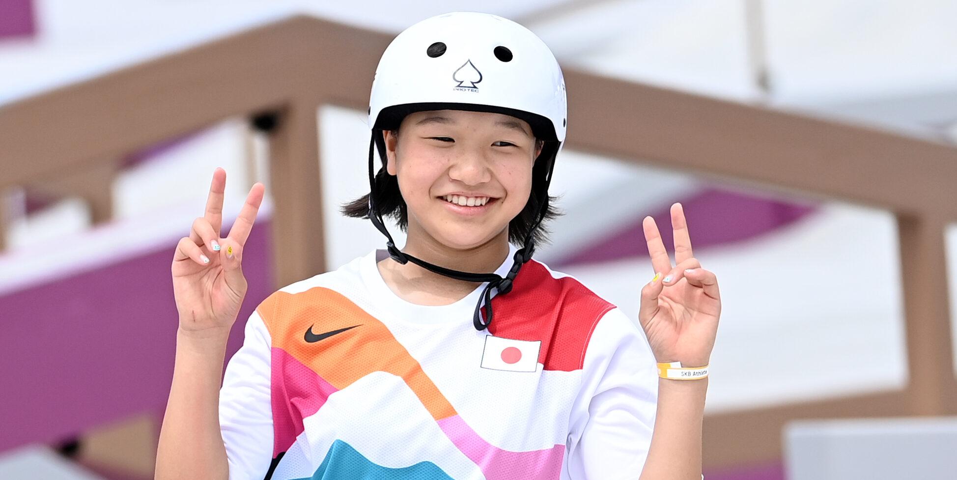 Momiji Nishiya, or olímpic en skate | Europa Press