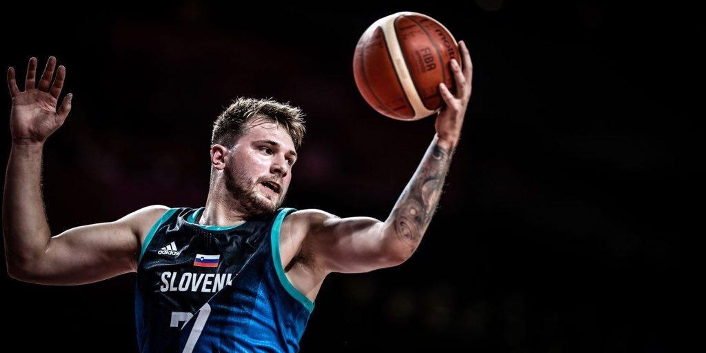 Luka Doncic, amb la selecció eslovena | @luka7doncic