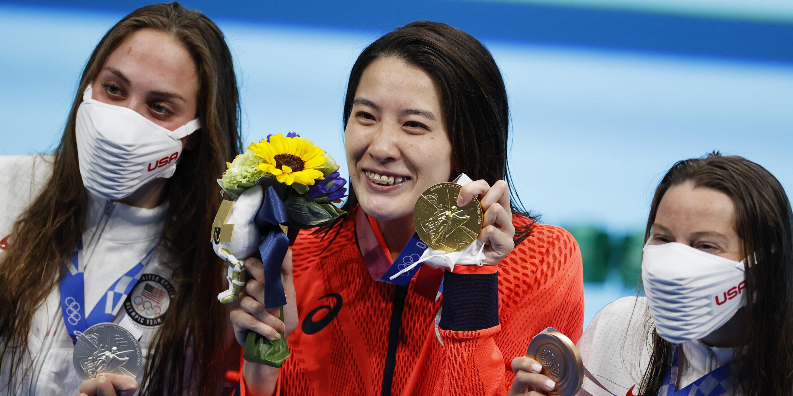 Ohashi, Weyant i Flickinger, medallistes olímpiques | Europa Press