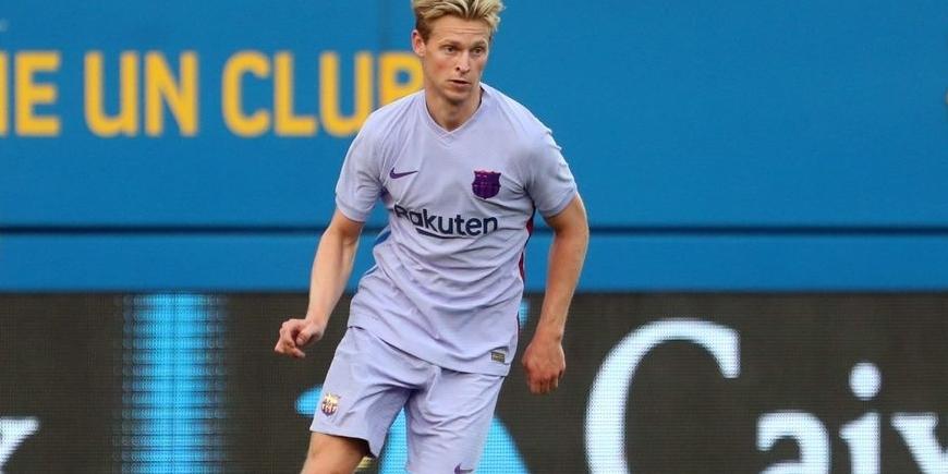 De Jong disputa un partit de pretemporada amb el Barça | FC Barcelona