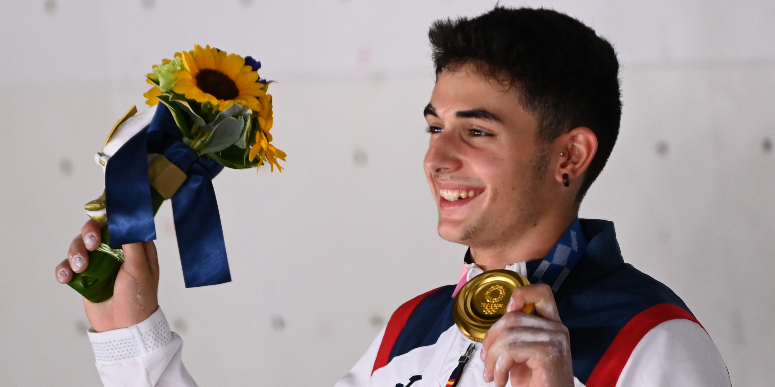 Alberto Ginés, campió olímpic d'escalada | Europa Press