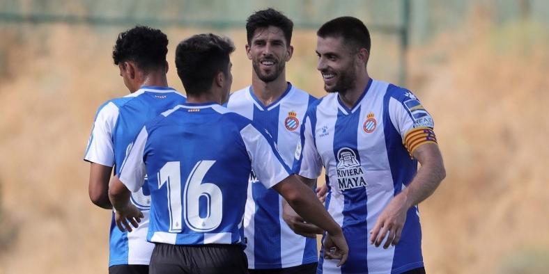 Els jugadors de l'Espanyol celebren un gol | RCD Espanyol
