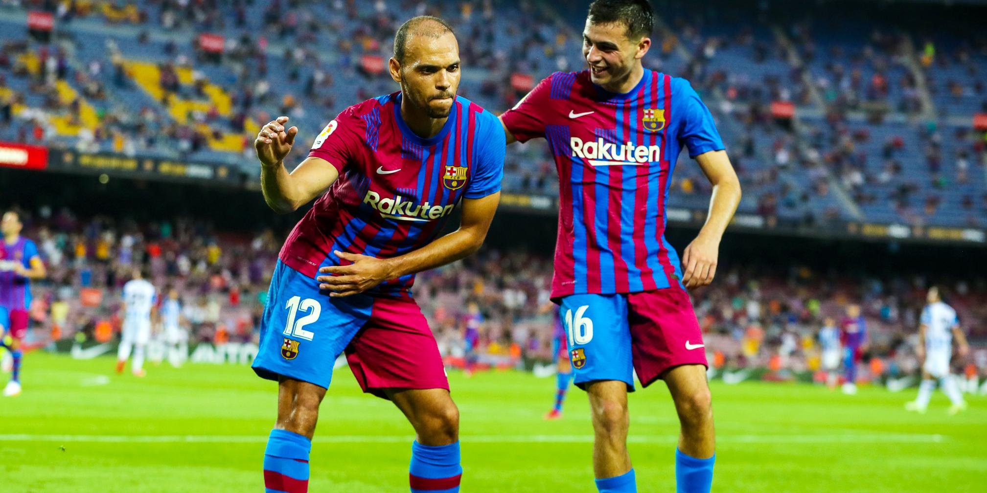 Braithwaite celebra un gol | FC Barcelona