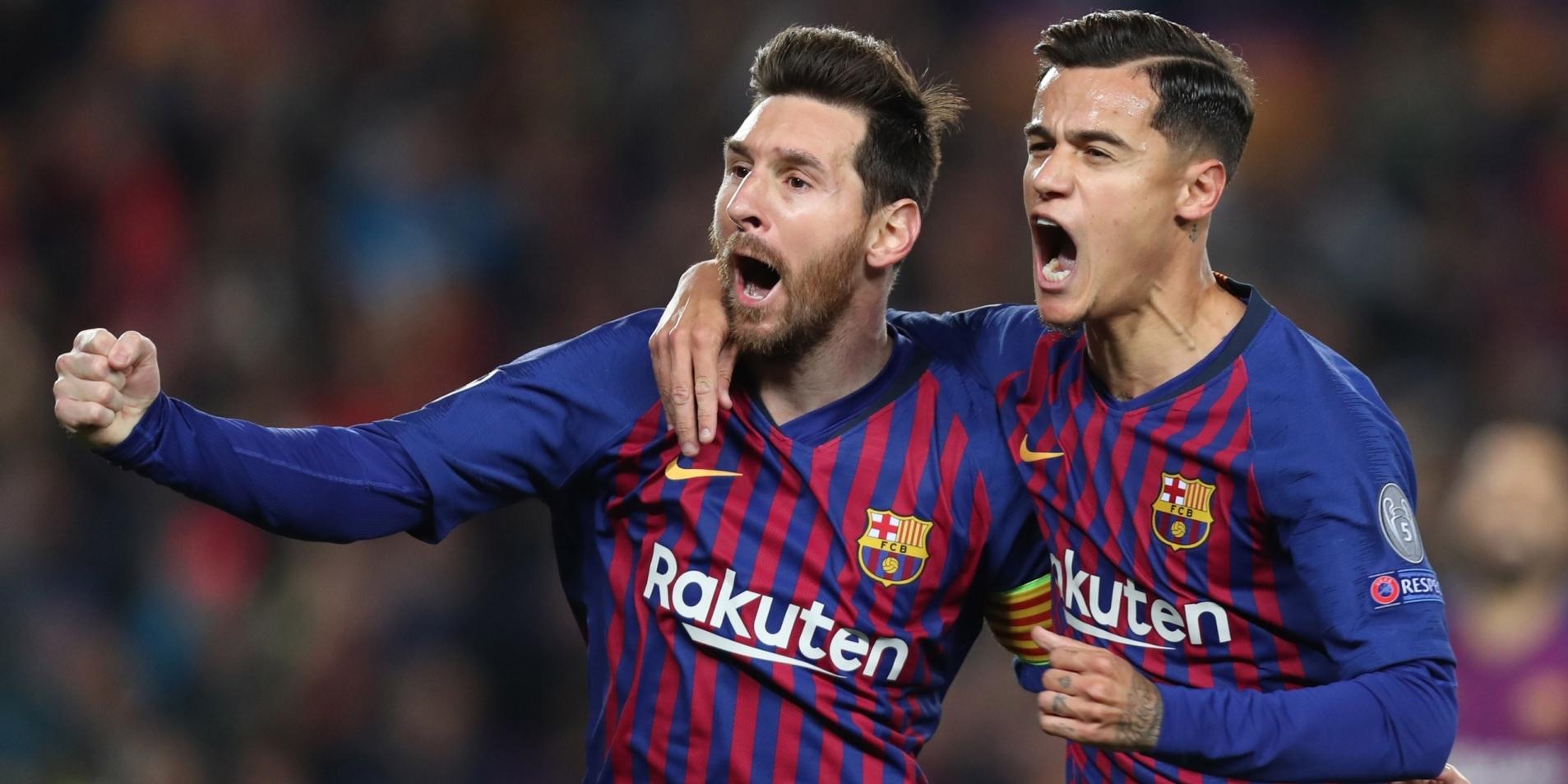 Coutinho i Messi, celebrant un gol | Europa Press
