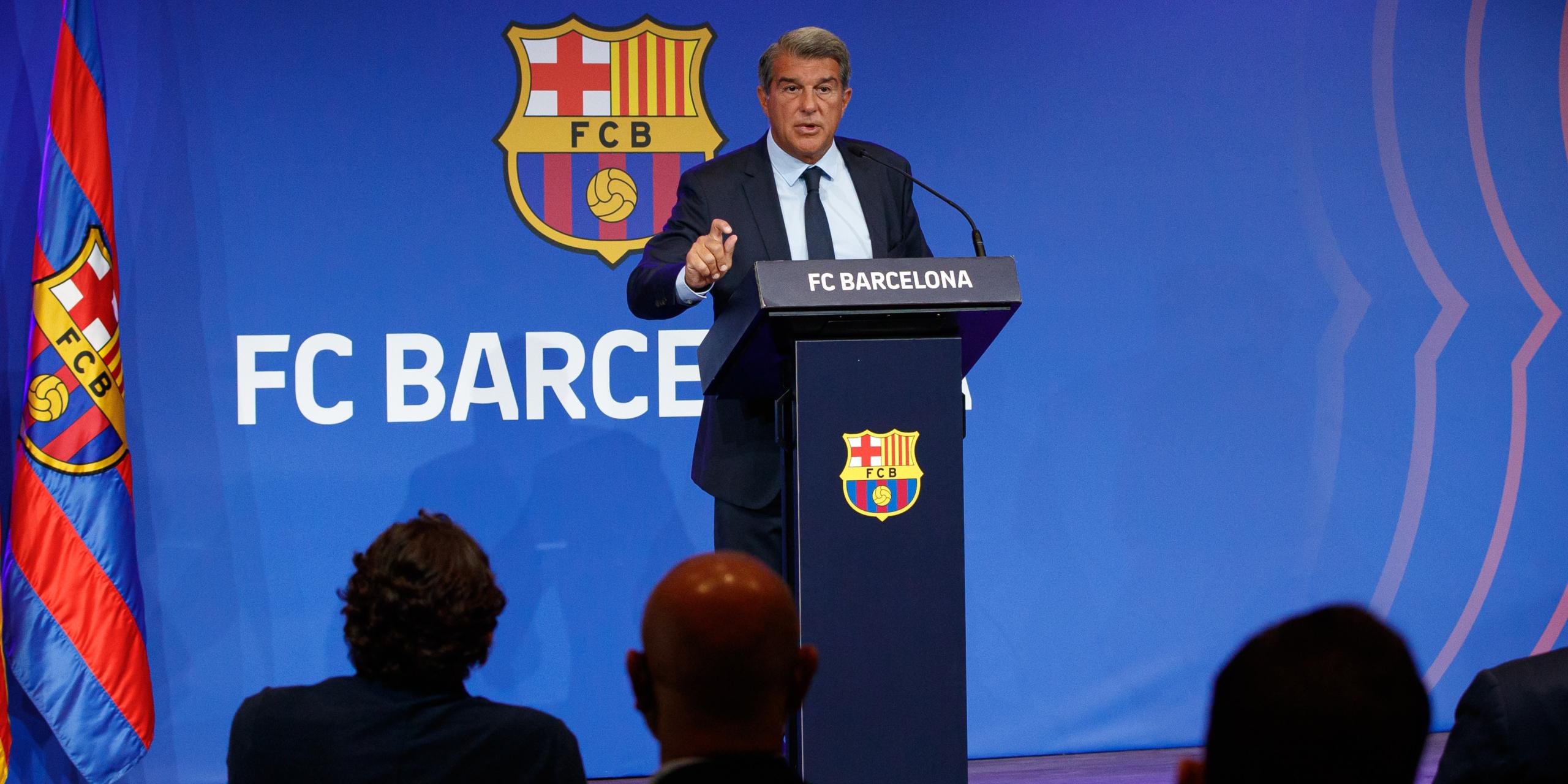 Joan Laporta, president del Barça | Europa Press