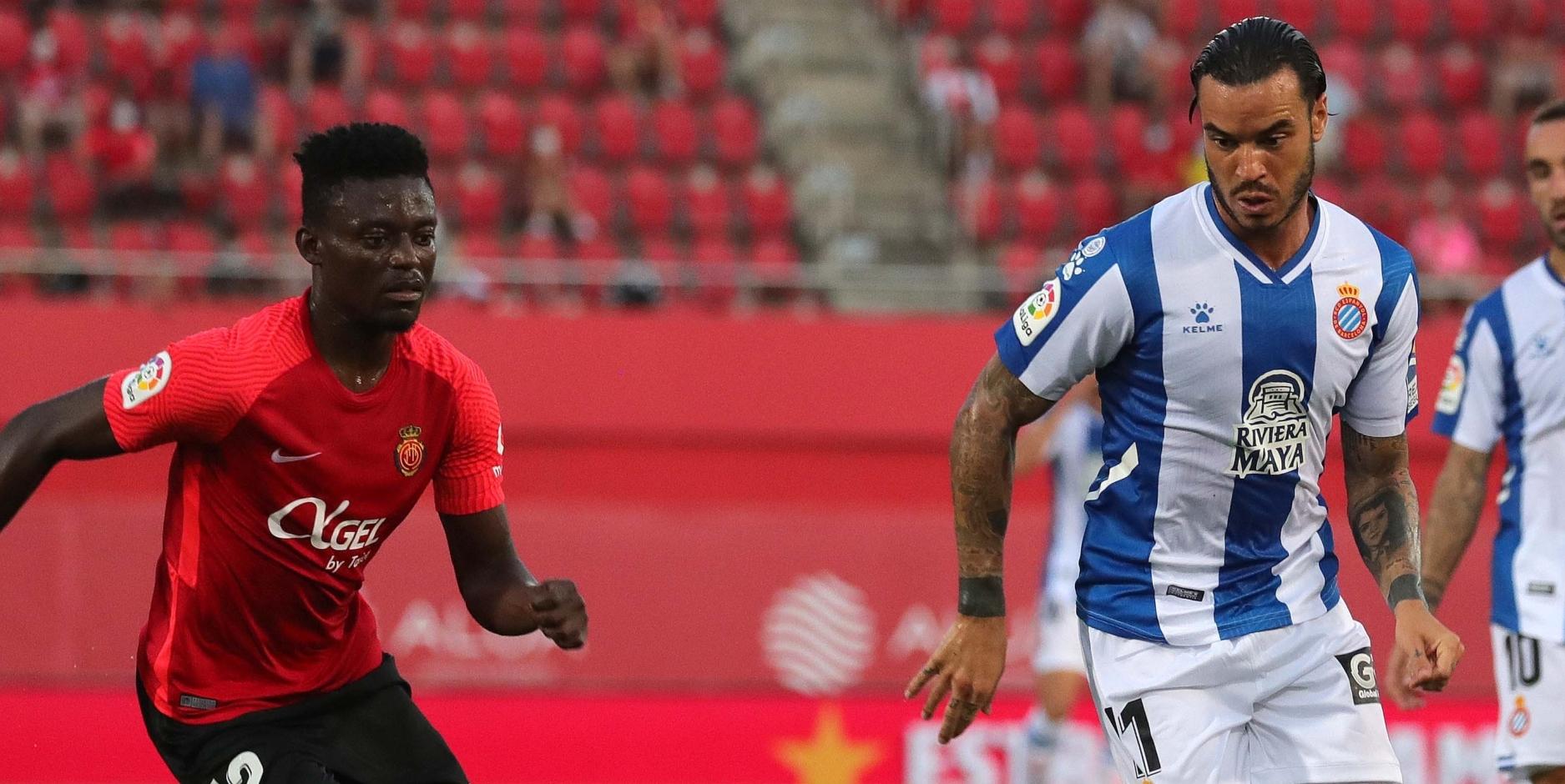 RDT, durant el partit contra el Mallorca | RCD Espanyol