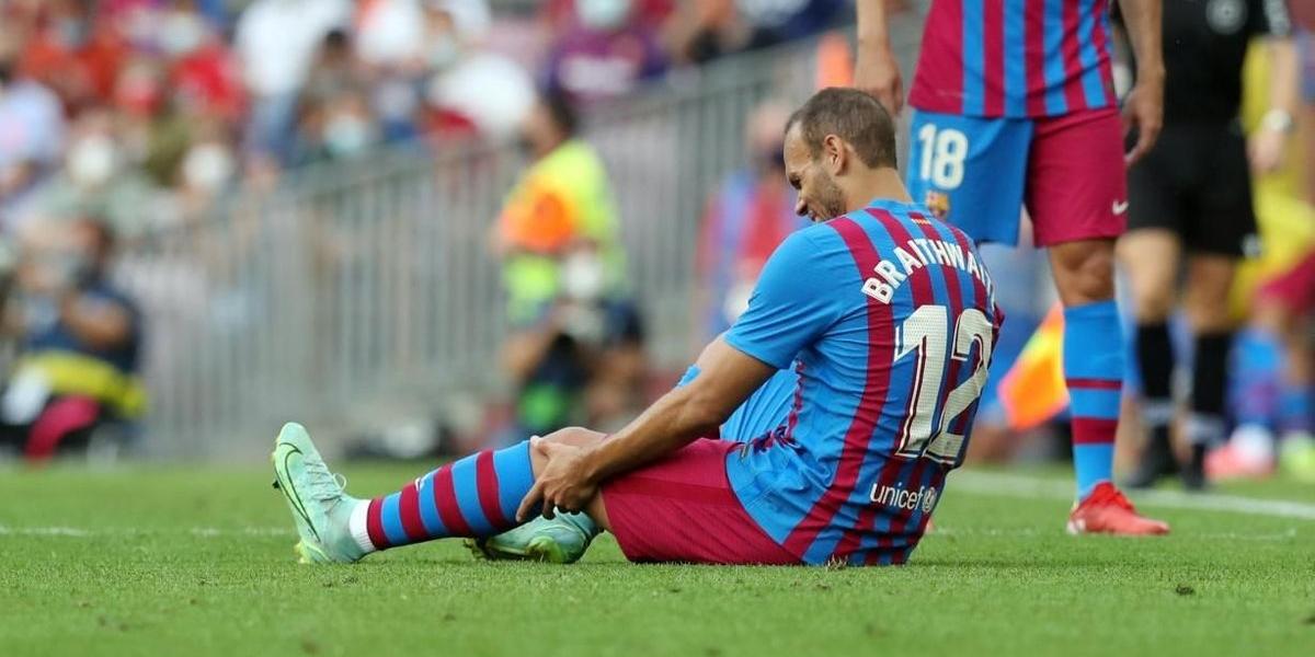 Braithwaite es lesiona contra el Getafe | FC Barcelona
