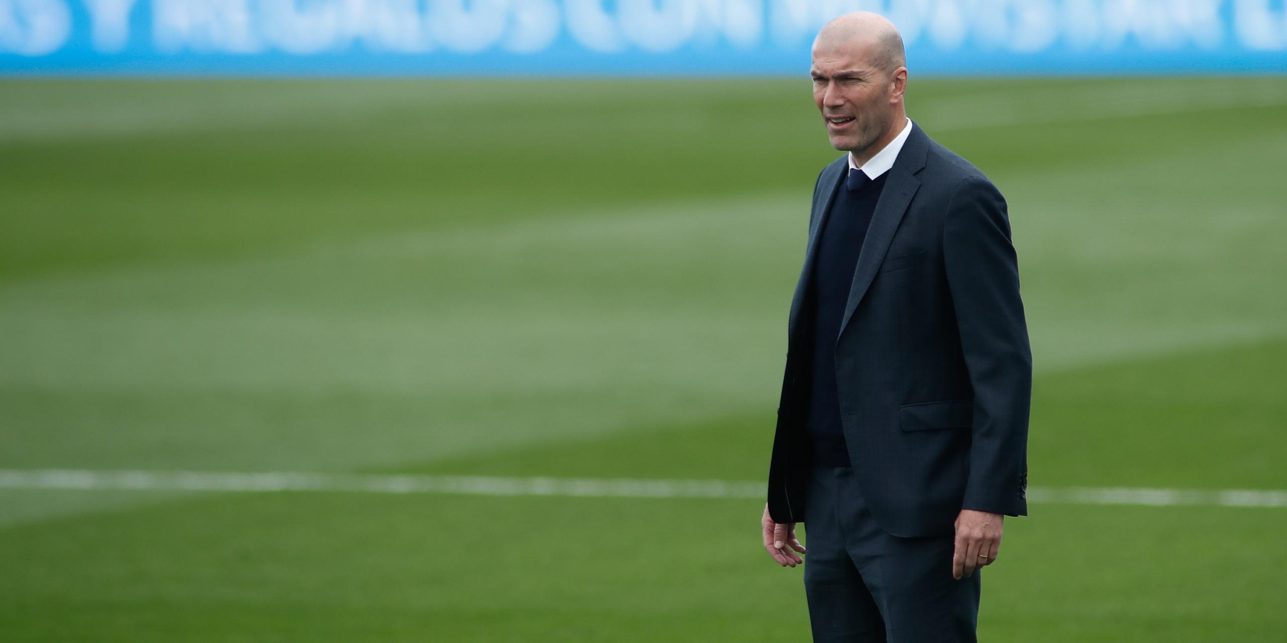 Zinédine Zidane, durant un partit | Europa Press