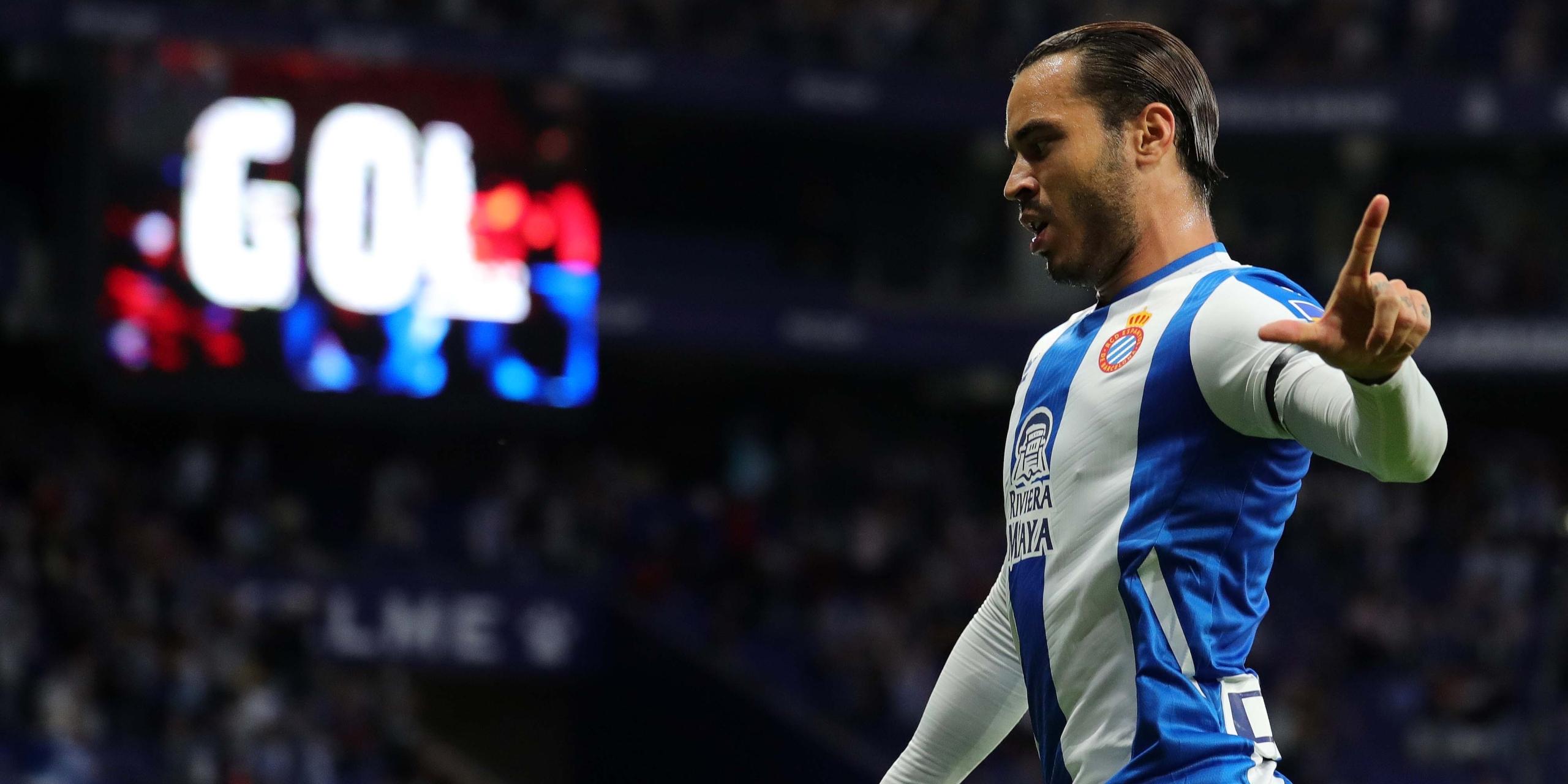 Raúl de Tomás celebra un gol | RCD Espanyol