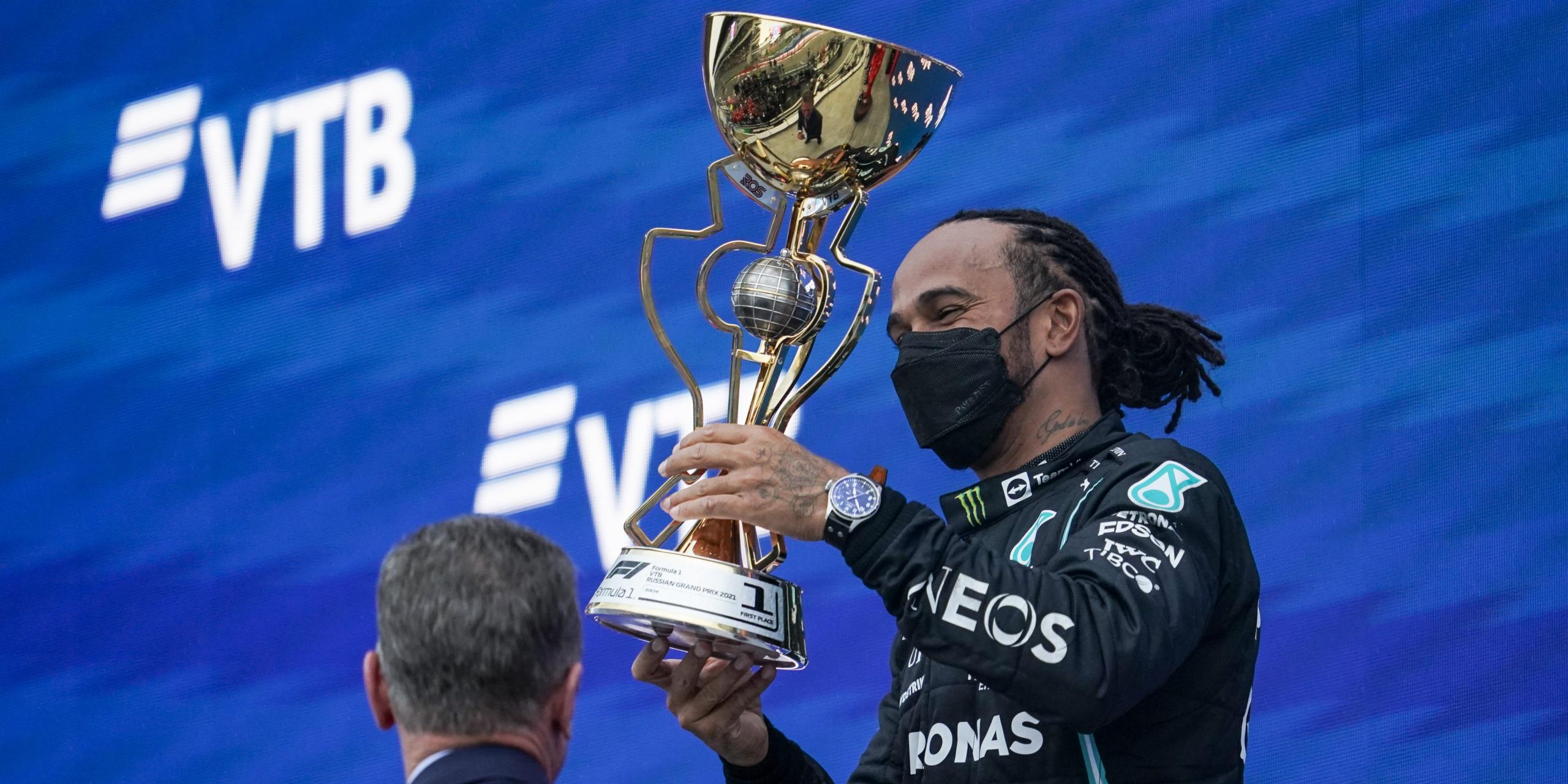 Hamilton, al Gran Premi de Rússia | Europa Press