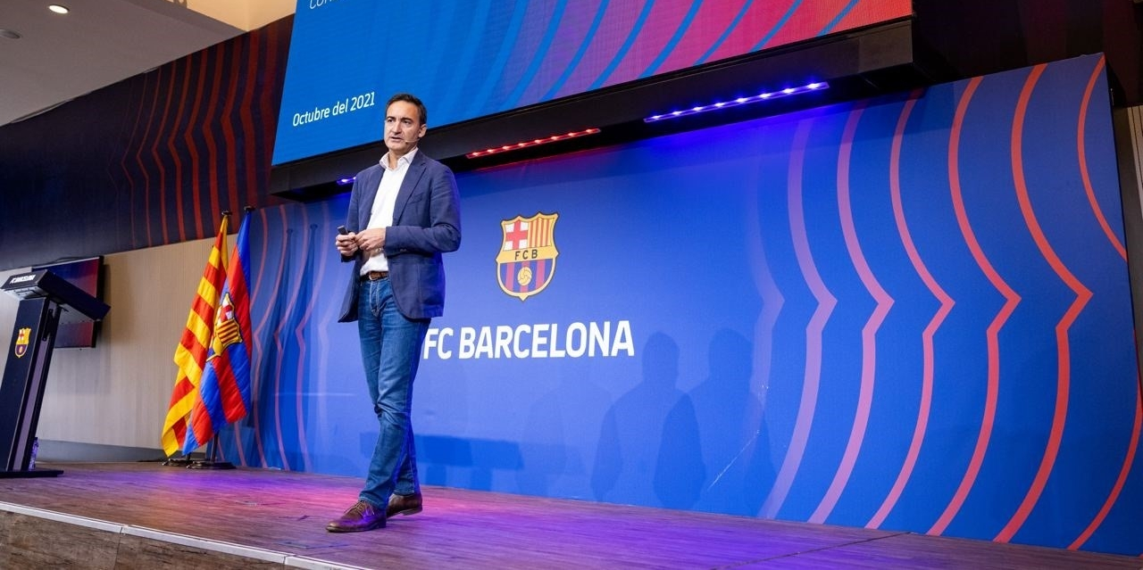 Ferran Reverter, director general del Barça | Europa Press