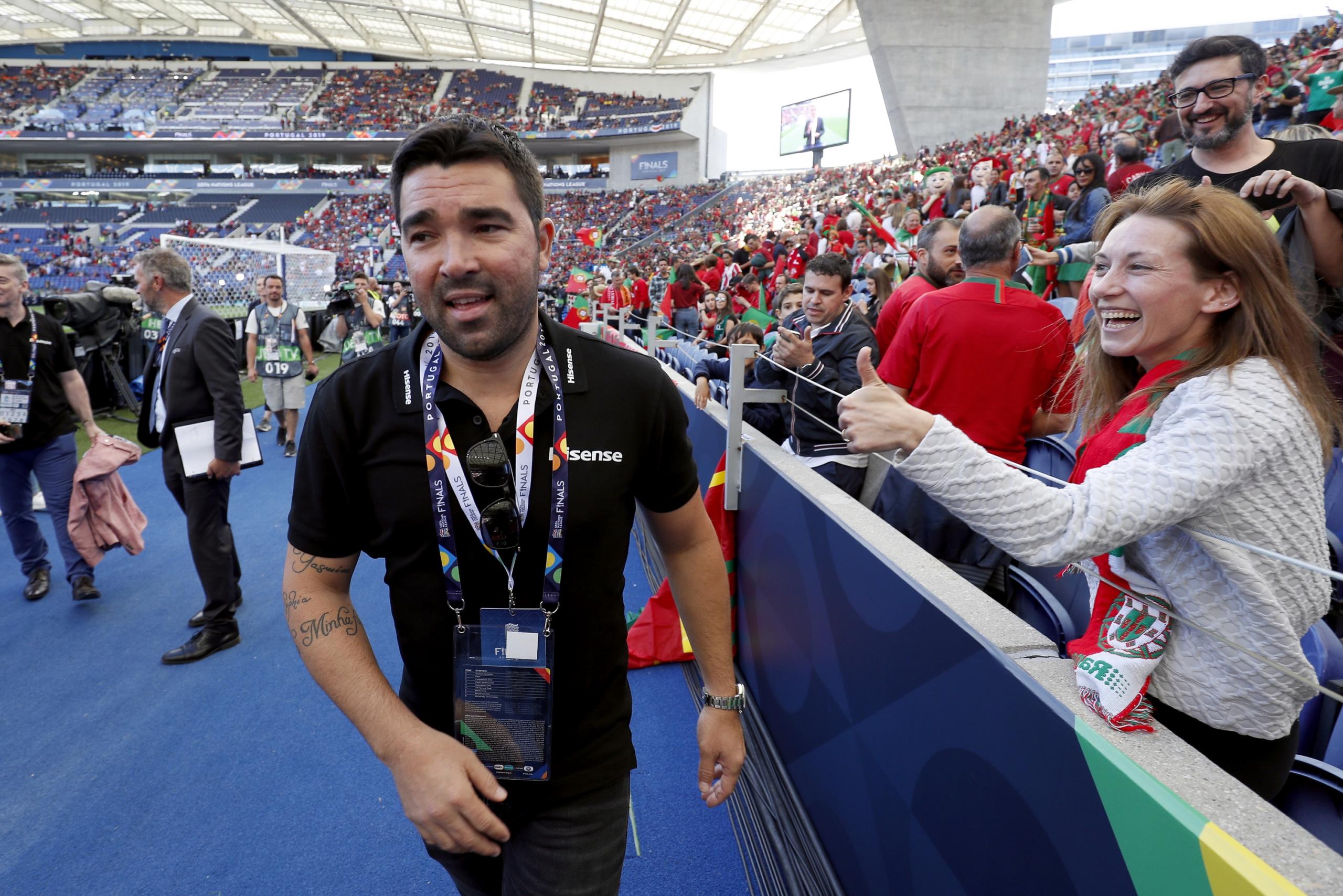 Deco, exjugador del Barça | Europa Press