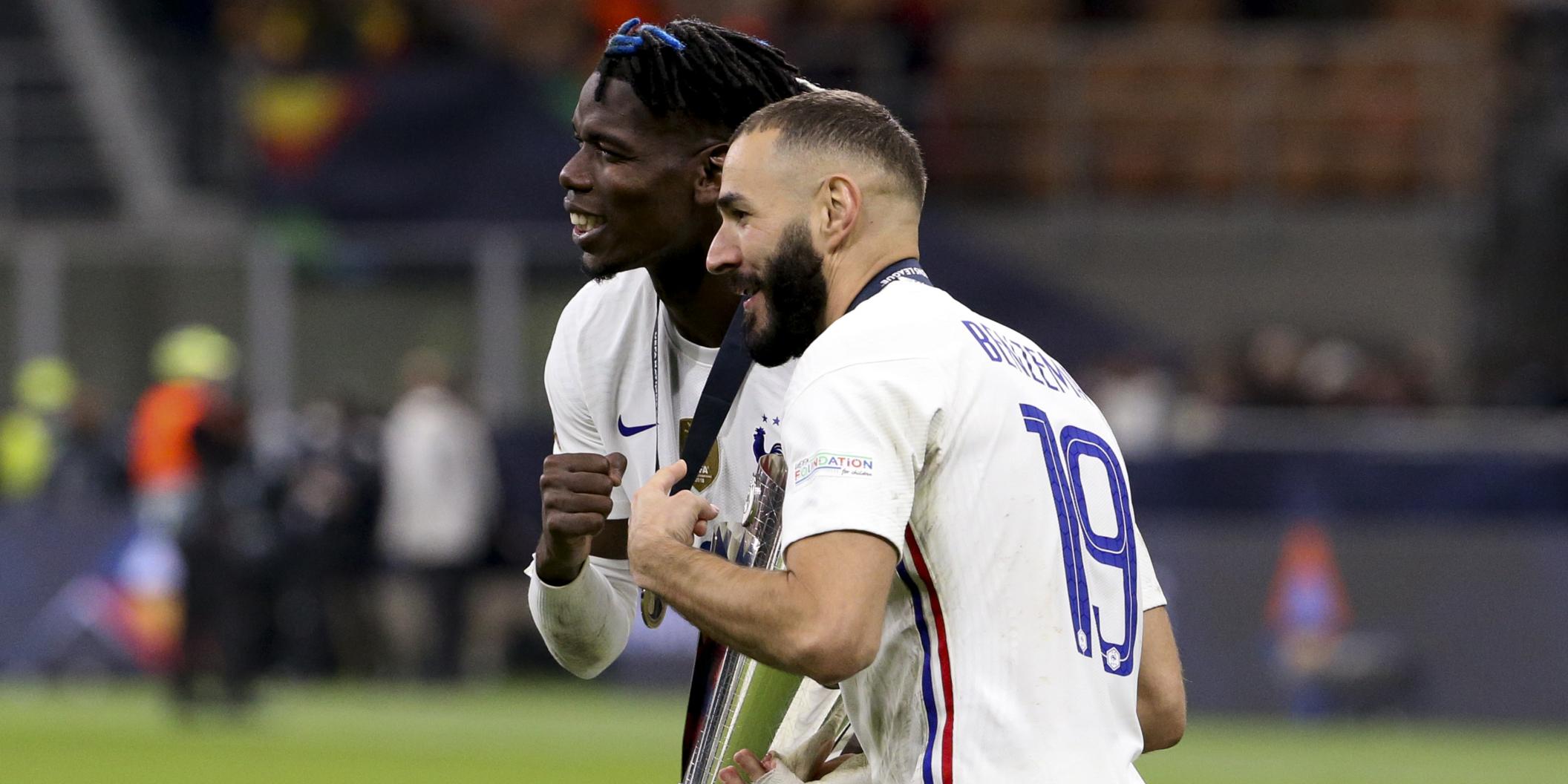 Paul Pogba i Karim Benzema, amb la Nations League | Europa Press