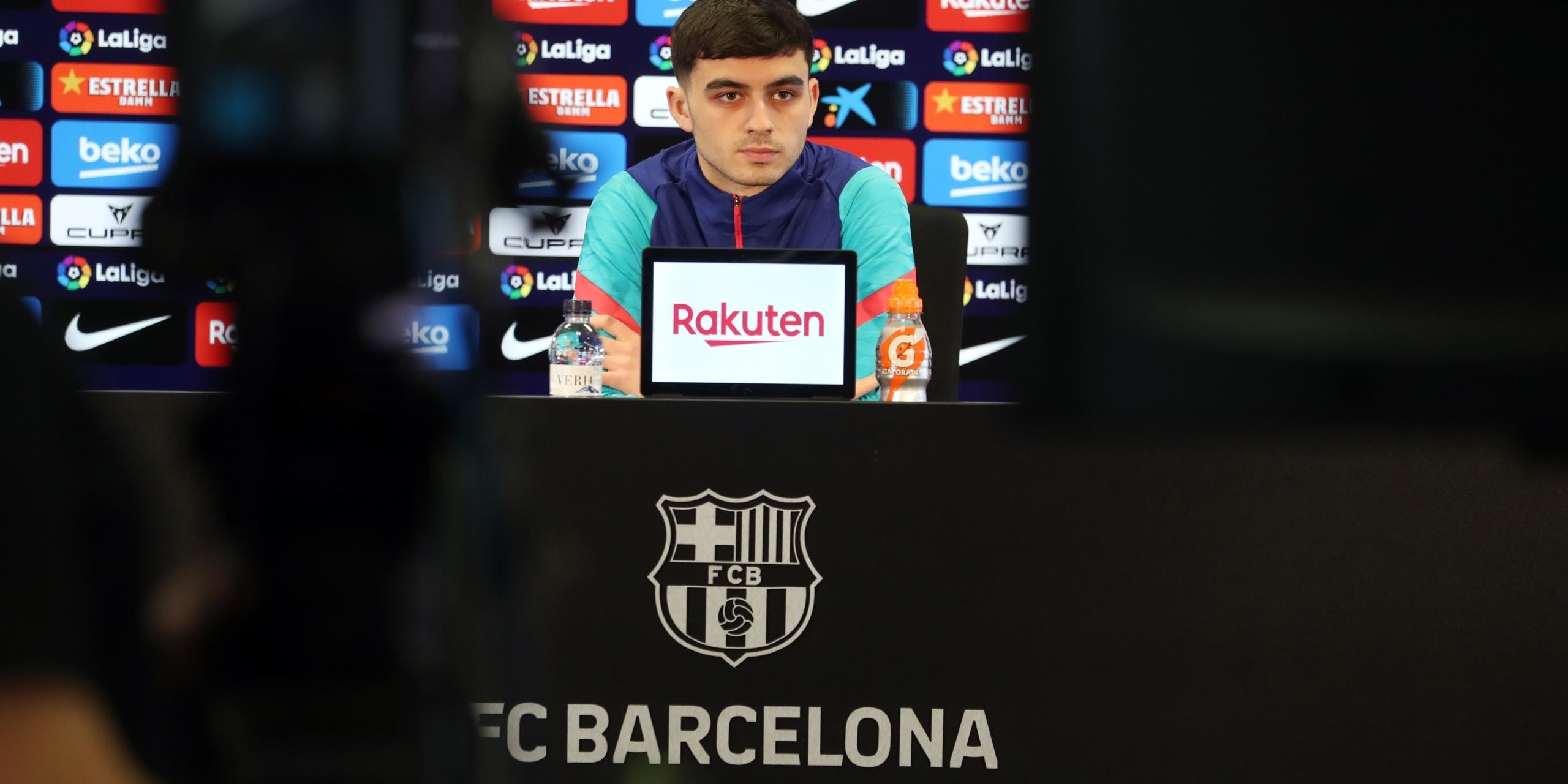 Pedri González, en roda de premsa   Europa Press