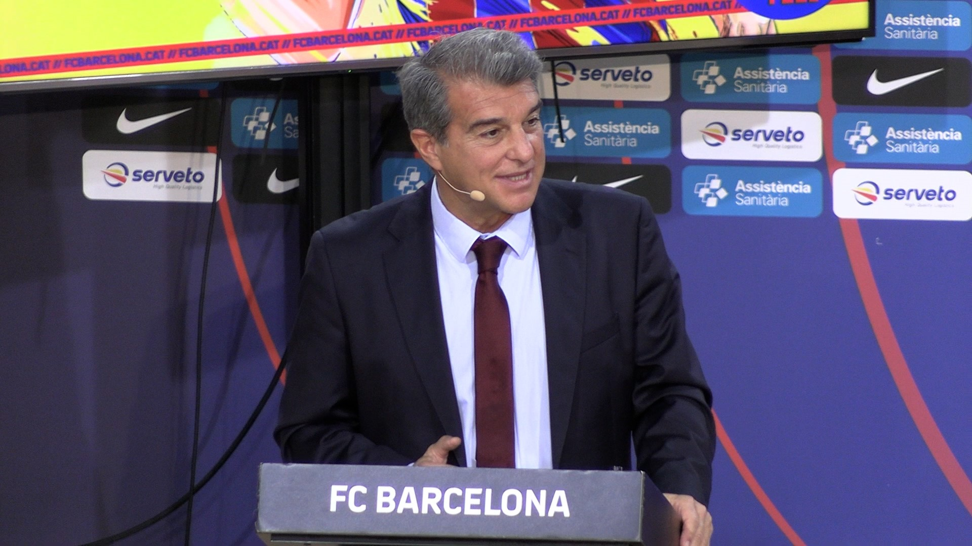 Joan Laporta, president del Barça   Europa Press