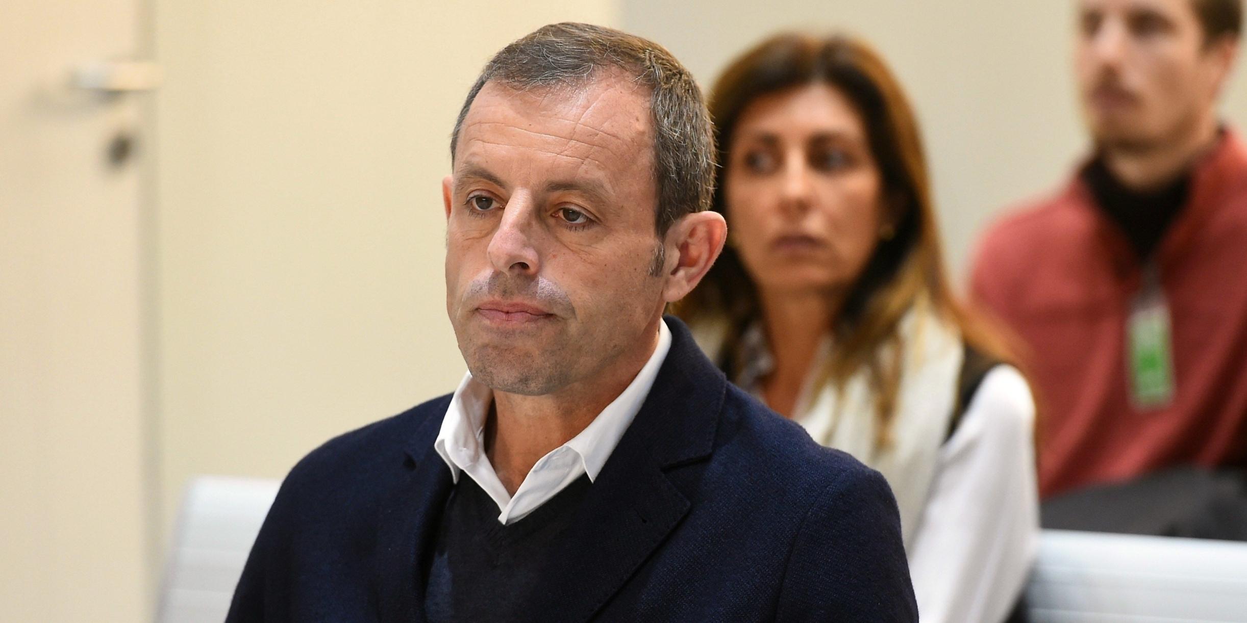 Sandro Rosell, expresident del Barça   Europa Press