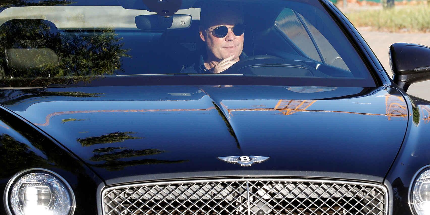 Ronald Koeman, al seu cotxe | Europa Press