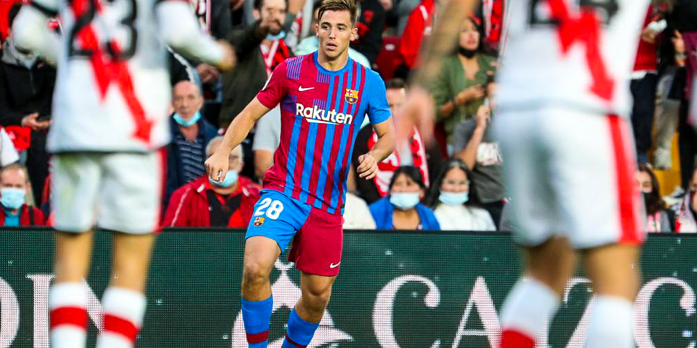 Nico González, jugador del Barça | FC Barcelona