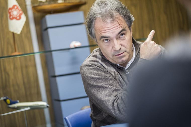 Santiago Espot va haver d'anar a declarar a l'Audiència Nacional per instigar la xiulada al rei Felip VI