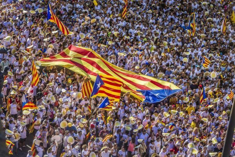 Una de les mobilitzacions més grans de l'independentisme