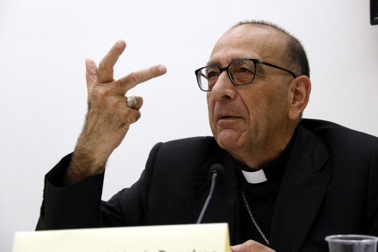 El cardenal arquebisbe de Barcelona, Joan Josep Omella