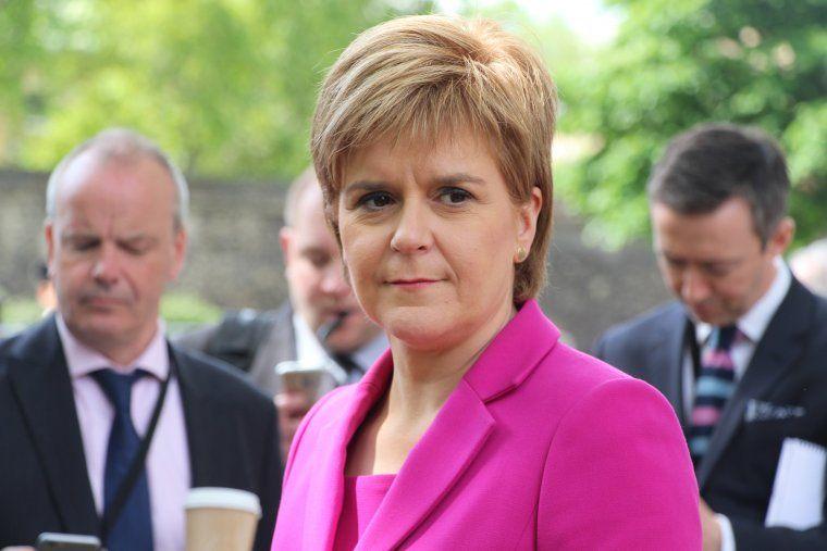 La primera ministra d'Escòcia i líder de l'SNP, Nicola Sturgeon