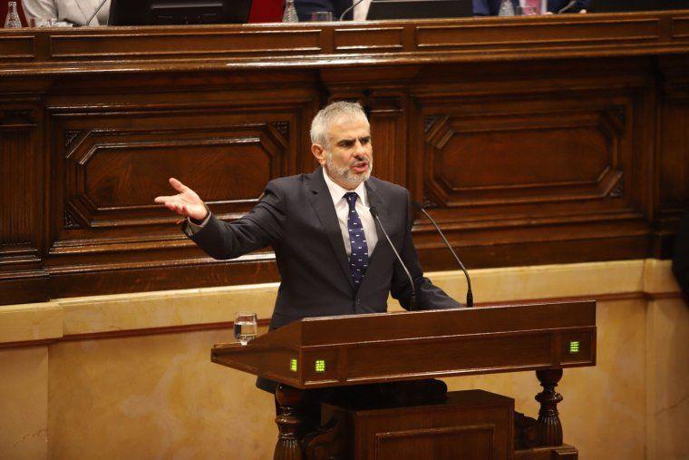 Carlos Carrizosa al Parlament
