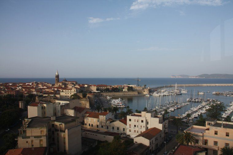 Imatge del Port de la ciutat de l'Alguer