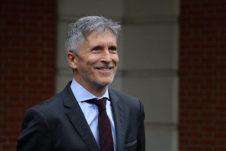 El ministre de l'Interior, Fernando Grande-Marlaska | ACN