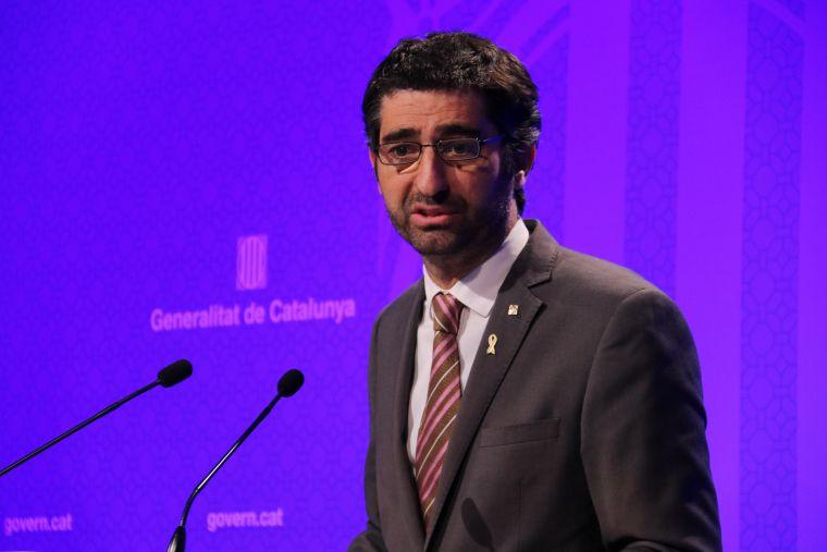 El conseller de Polítiques Digitals i Administració Pública, Jordi Puigneró