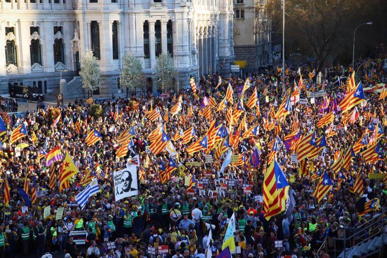 L'independentisme testifica a Madrid