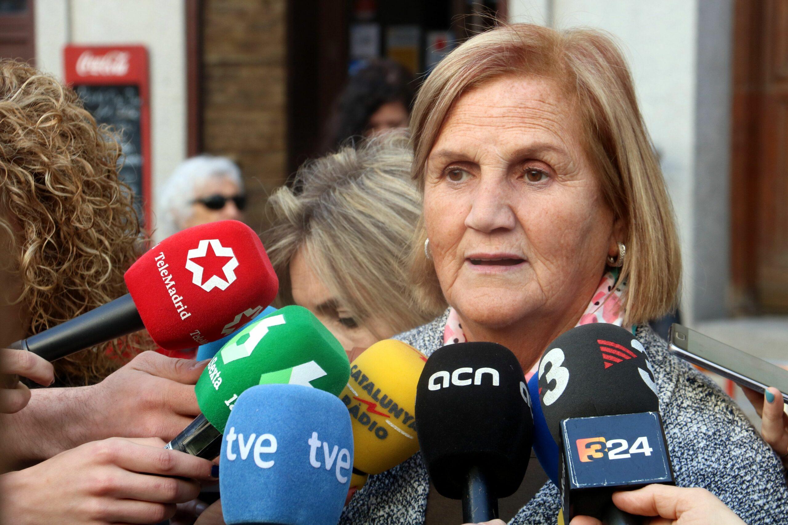 L'expresidenta del Parlament Núria de Gispert
