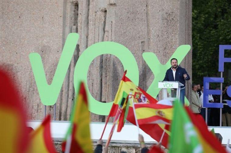 Míting final de campanya de Vox