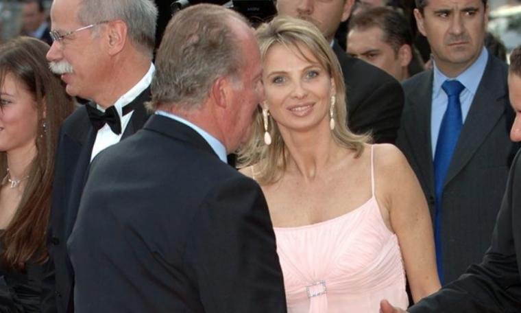 Joan Carles I i Corinna, en uns premis l'any 2012 / Europa Press