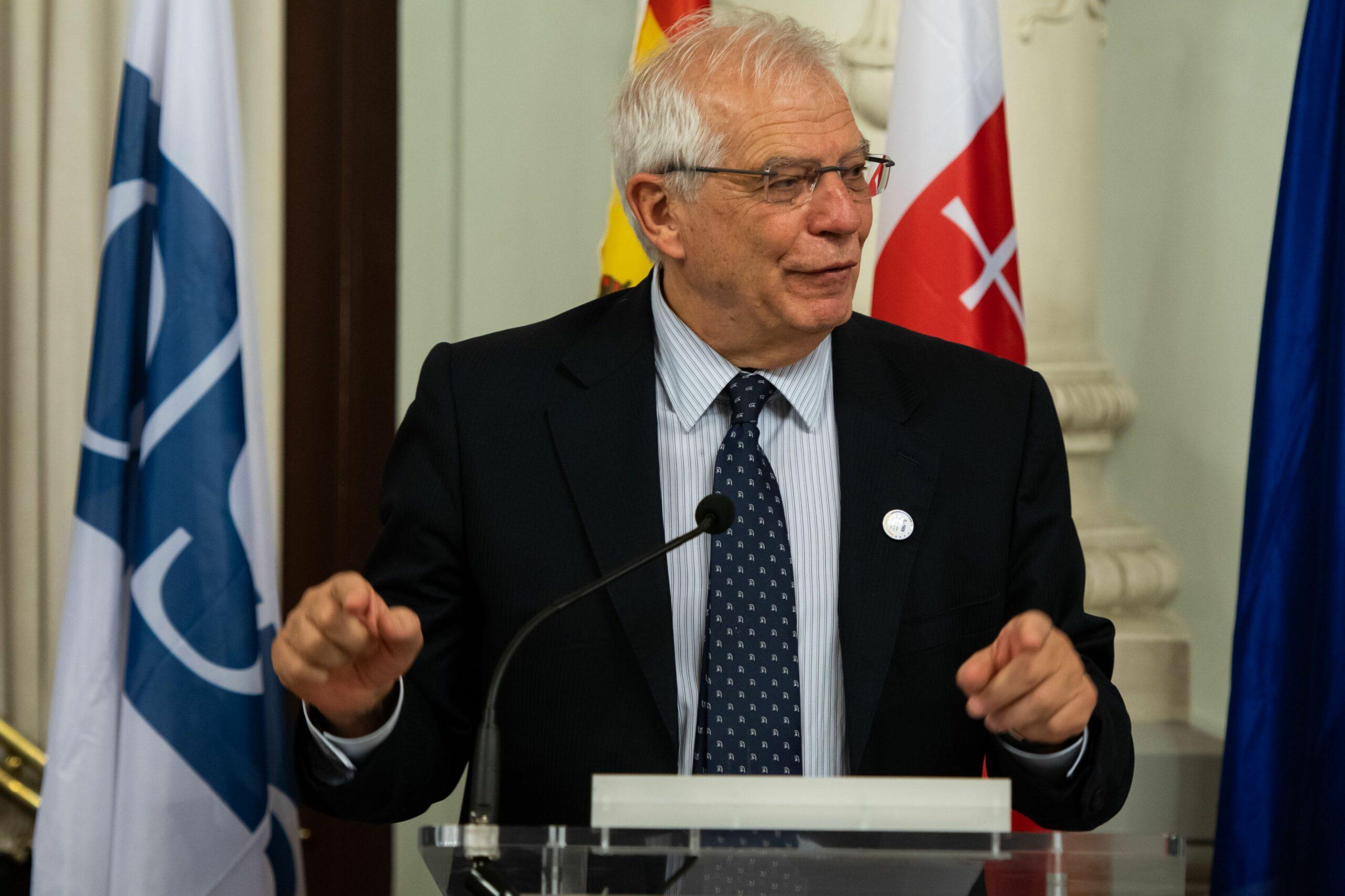 L'exministre d'Afers Exteriors espanyol, Josep Borrell   ACN