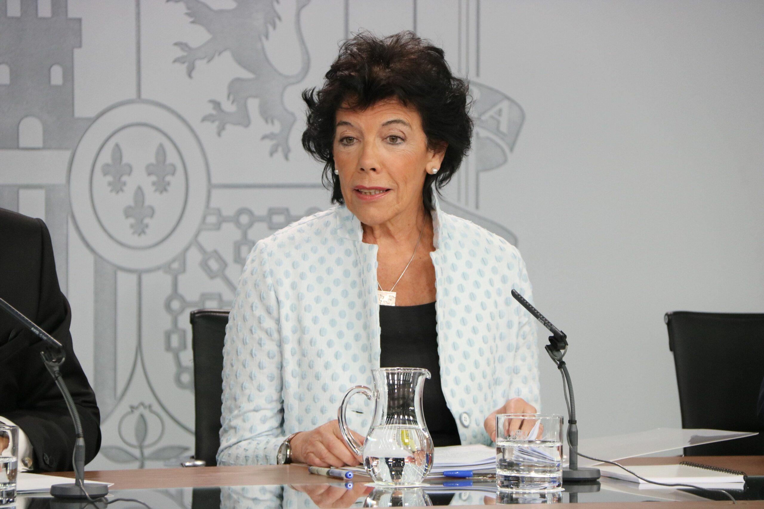 La portaveu del govern espanyol en funcions, Isabel Celaá