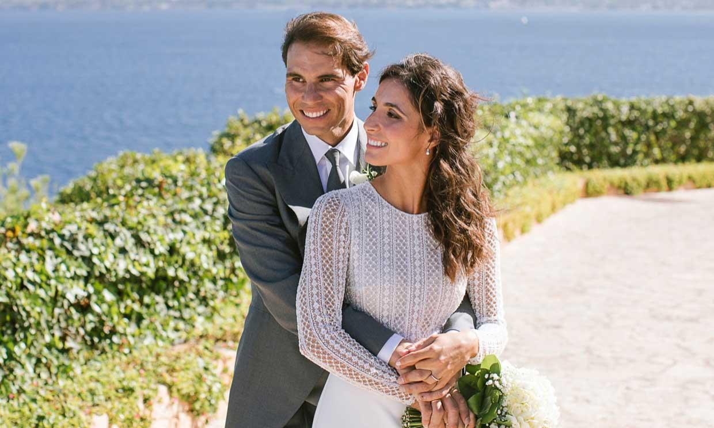 Rafa Nadal i Xisca, el dia de la seva boda  @Rosa Clará