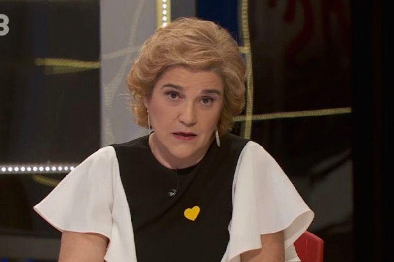 Pilar Rahola, al 'Faqs'  TV3 (1)