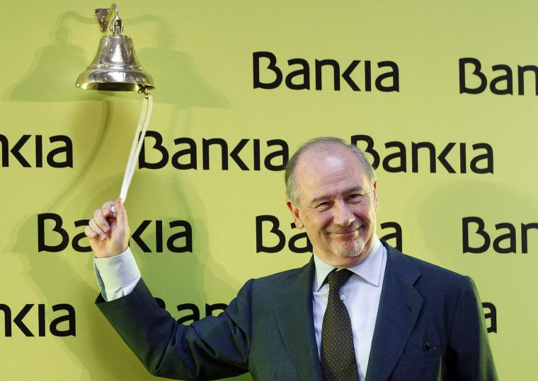 L'expresident de Bankia, Rodrigo Rato