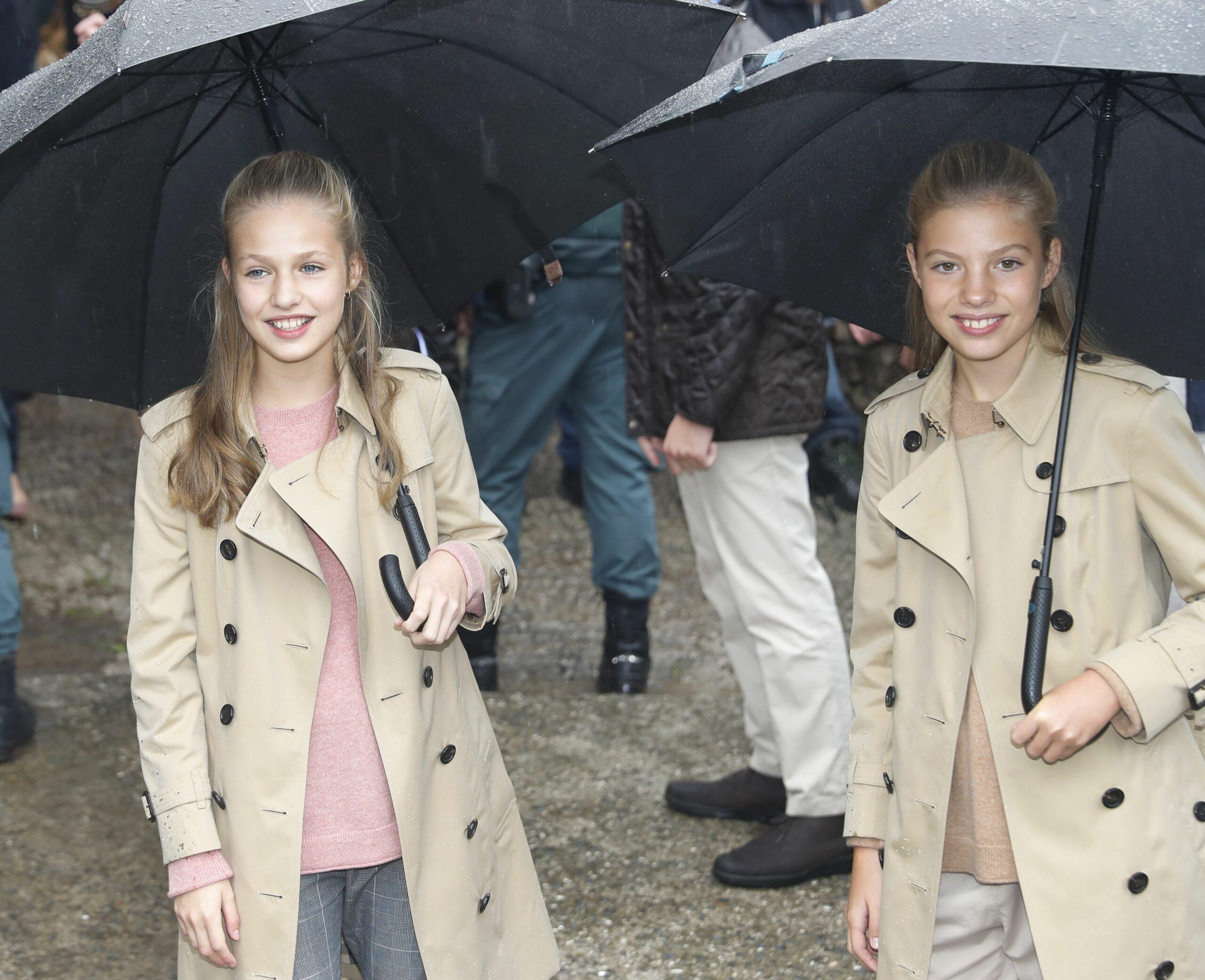 La princesa Elionor i la seva germana, la infanta Sofia  Europa Press