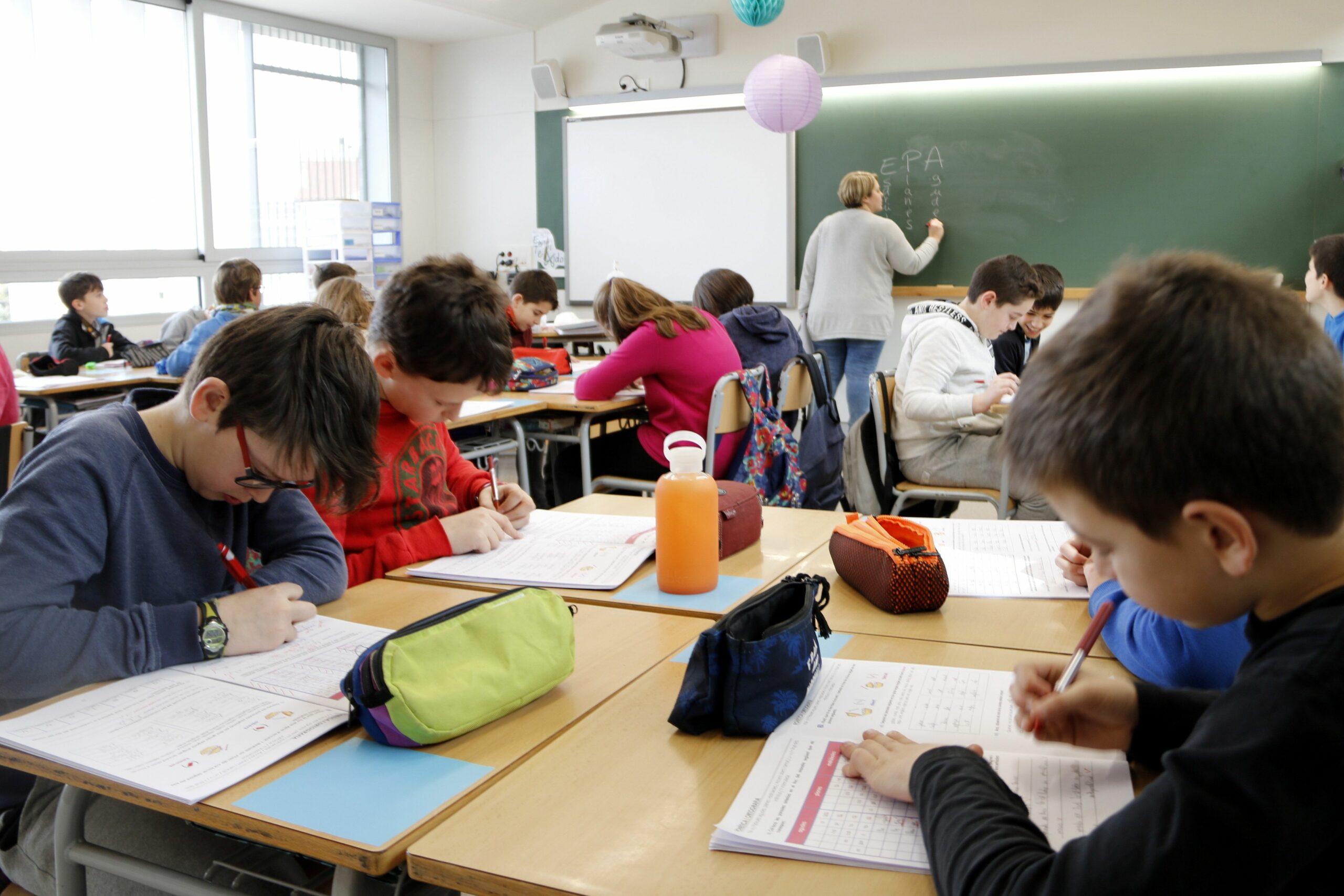 Classe de 6è de Primària de l'escola Emili Teixidor de Roda de Ter