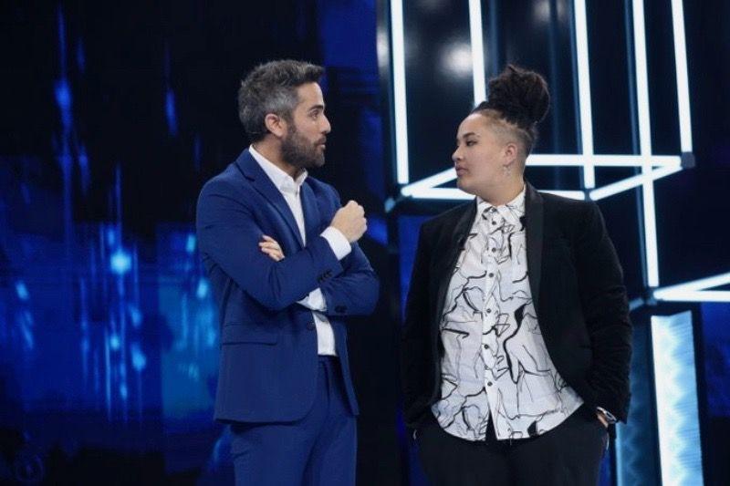 Roberto Leal i Eli, l'última expulsada d'OT   TVE (1)