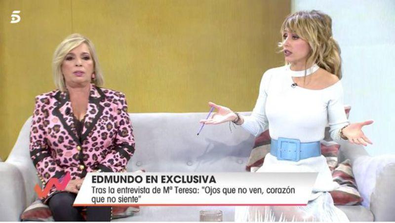 Carmen Borrego i Emma García a 'Viva la vida'  Telecinco 2